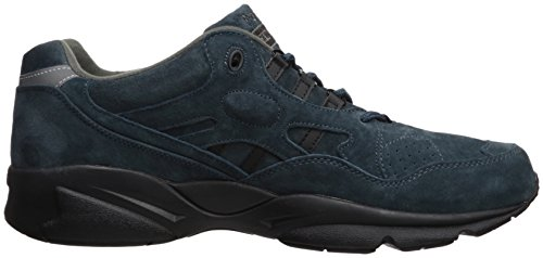 Propet Mens Stabilità Walker Sneaker Denim Camoscio