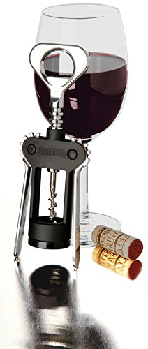 Swing-A-Way 757BK Wing Corkscrew, Black