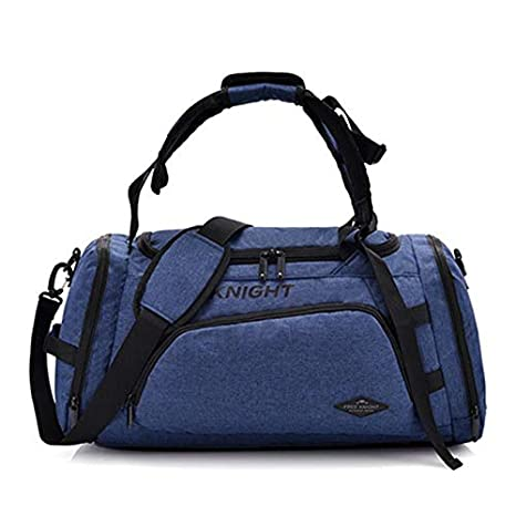 Image Unavailable. Image not available for. Color  CLHFJ Multifunctional  Travel Duffel Bag Gym Handbag with Independent Shoes Pocket Women and Men  ... 5c9d1373304da