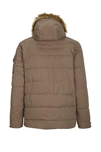 in I A Hood G Casual Zip Function Dark Bukano G DX Stone Optic Off Jacket with Men's Down BqzxwndZ