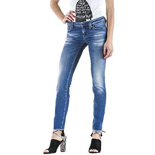 Denim Blue Jeans MELTIN'POT Denim Jeans MELTIN'POT Denim Jeans Blue Blue Denim Blue MELTIN'POT Jeans MELTIN'POT OqBT66dw