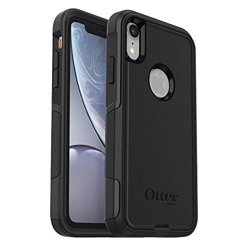 OtterBox Commuter Series Case for iPhone XR - Retail Packaging - Black (Top 10 Skin Cases)