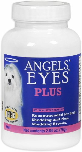 Angels' Eyes PLUS Dog Tear Stain Remover, Beef 150g (2 x 75g)