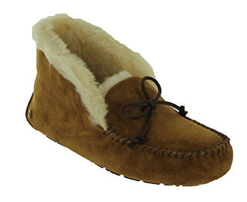 UGG Women's Alena Slipper, Chestnut, 9 B US