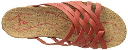 Ahnu Dames Maia String Sandaal Rode Steen