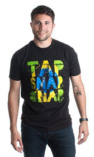 JTshirt.com-17872-Tap, Snap, or Nap | Brazilian Jiu-Jitsu, BJJ Jiu Jitsu Brazil Unisex T-shirt-B00WXLZMIE-T Shirt Design