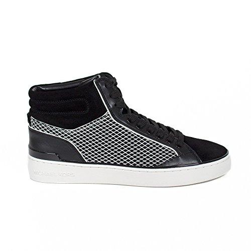 Chaussure Femme Sneaker Cheville MICHAEL KORS Kyle High Top Fine Mold Mesh BlkWh