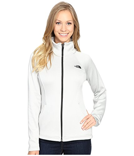 - The North Face Women's Agave Full Zip Lunar Ice Grey Heather (Prior Season) X-Large