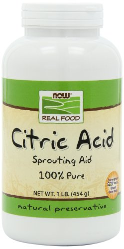 NOW Foods Citric Acid, 1 -Pound
