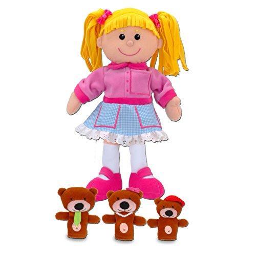 Goldilocks And The Three Bears Puppet Set