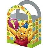 Pooh's 1st Birthday Treat Boxes, 4ct