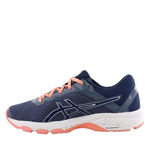ASICS GT-1000 6 GS Kid's Running Shoe. Smoke Blue/Indigo Blue/Begonia Pink, 6 M US Big Kid by ASICS (Image #3)