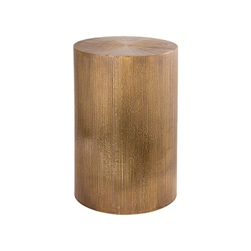 gold bar accent table
