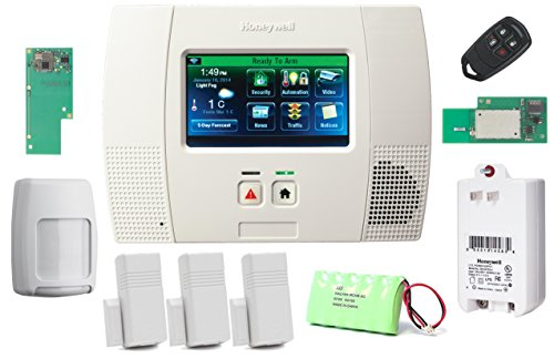 Honeywell Wireless Lynx Touch L5200 Home Automation/Security Alarm Kit with Wifi and Zwave Module (Lynx Wireless)