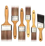6 Piece Professional Painters SRT Paint Brush,Paint Brushes,Home Repair Tools,Paint Brush Set,Paintbrush,Wooden Handle Paint Brush,Painting Brush,Tools,Tool kit,Tool Set,Home Tool kit