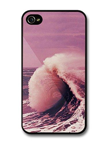 Cool Hipster Wave Surf Santa Cruz Rip Tide Design case for iPhone 4 4S