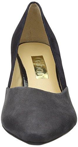 Gabor Shoes Basic, Zapatos de Tacón Para Mujer Varios Colores (pazifik/Dark Grey 36)