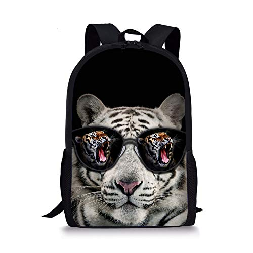 Tiger 5 1 Fox Moyen Cartable Noir Chaqlin OwxqRgAPgC