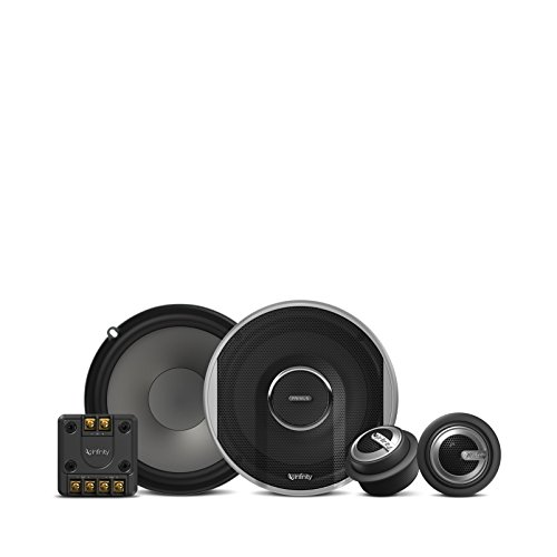 Infinity Primus PR6510CS 480W Max (160W RMS) 6.5 Inch Primus Series 2-Way Car Component Speakers System Set with Free Alphasonik Earbuds