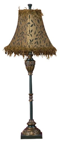 Deco 79 Polystone Metal Buffet Lamp Makes the Environment Exciting