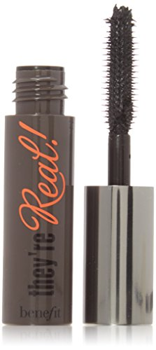 Benefit They're Real Mascara, Jet Black, Deluxe Travel Size, 0.1oz/3.0g ()