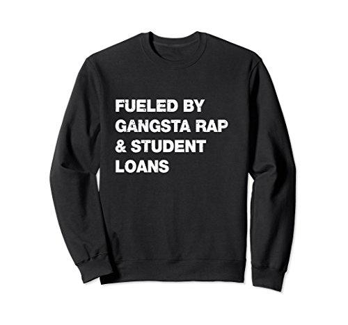 Unisex Funny College Student Sweat Shirt for High School Graduation Medium - Girl.com Dorm