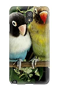 New Snap-on Skin Case Cover Compatible With Galaxy Note 3- Lovebirds 1098655K25795555