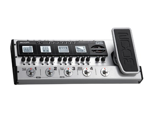 Zoom G5 USB Guitar Effects Console with Z Pedal & Boost w/ Gig Bag and Cables