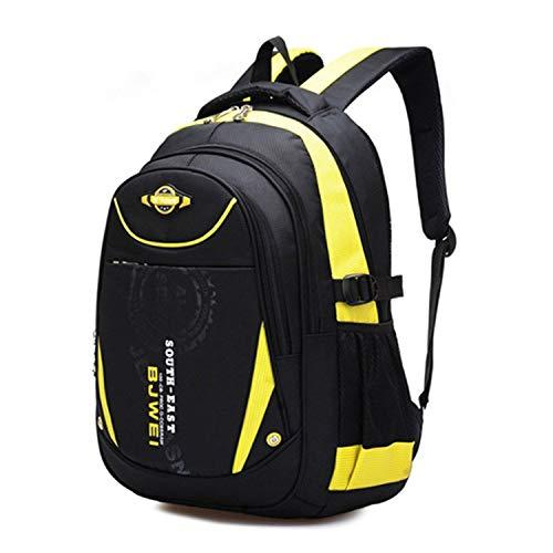 MAYZERO School Backpacks Waterproof School Bags Durable Travel Camping Backpacks for Boys and Girls (Bones Pocket Wheels)