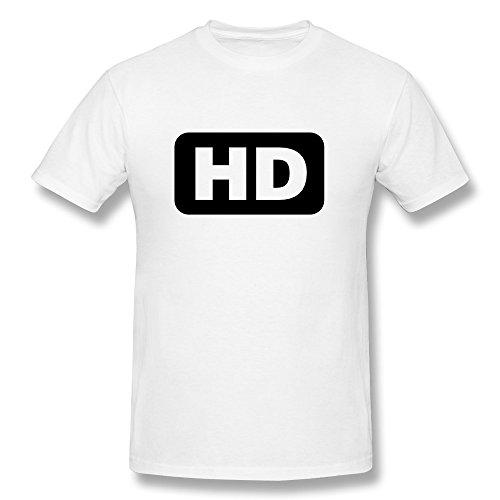 Men HD Icon T-shirt,White T-shirts By HGiorgis M White