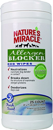 cat allergen wipes - 8