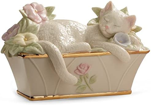 Lenox Nap Time Kitty Figurine