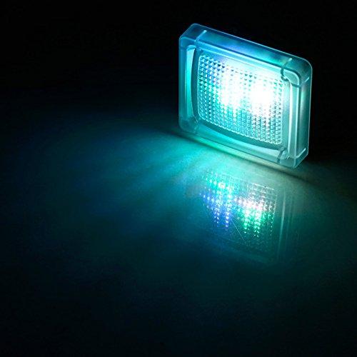 8 Diferentes Modos de Tiempo Pantalla Digital Rivenbert Simulador TV con configuraci/ón Flexible Sensor de luz Ambiental y tempori by Seguridad para la casa