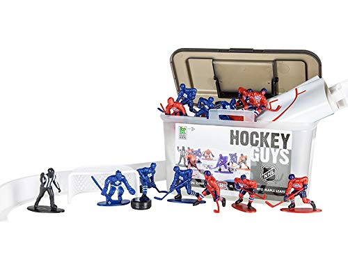 Kaskey Kids NHL Toronto vs Montreal 27 Piece Hockey Guys Action Figure Set for Hockey Fans