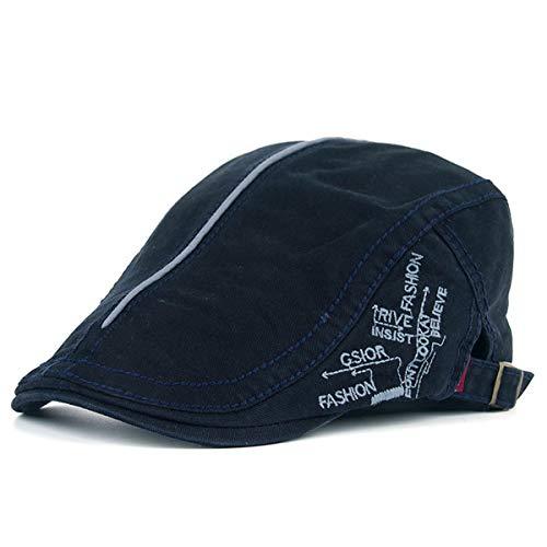 Casual de de Sombreros Pato B algodón qin hat Pintor Visera para de Hombres GLLH Sombrero Hombres Sombrero Sombrero Vintage de E para aWF7wq