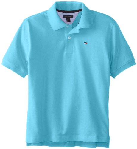 Tommy Hilfiger Boys 8-20 Ivy Spring Polo Shirt, Blizzard Blue, X-Large