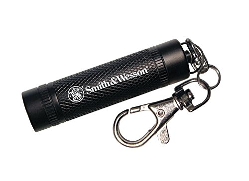 Smith & Wesson Galaxy Ray Black Flashlight with Keychain Clasp and Water Resistant Construction for Survival, Hunting and Outdoor