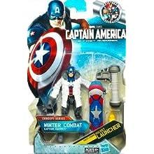 Marvel Captain America Movie 4 Inch Series 2 Action Figure Winter Combat Captain America