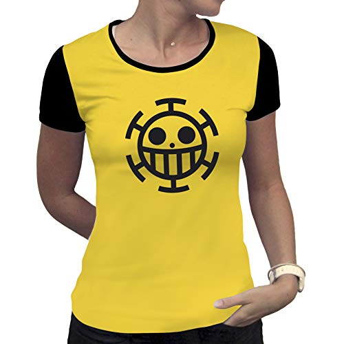Mc One Piece camiseta Abystyle Trafalgar amarilla Law Woman da1OxqXw