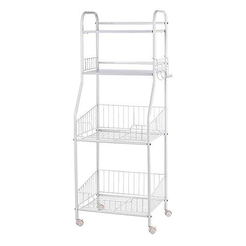 Kitchen multi - purpose net basket rack / living room debris storage rack / four simple storage shelves by Shelf-xin
