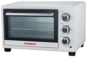 Corbero CHS260WCL - Horno (Pequeño, Horno eléctrico, 26 L, 1500 W, 26 L, 1500 W)