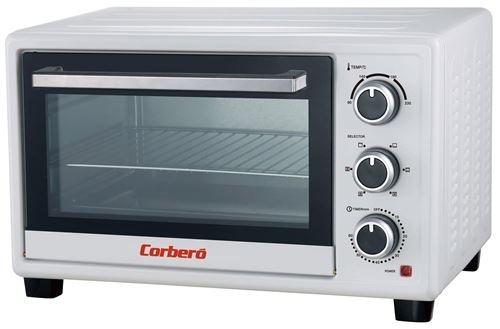 Corbero CHS260WCL - Horno (Pequeño, Horno eléctrico, 26 L, 1500 W ...