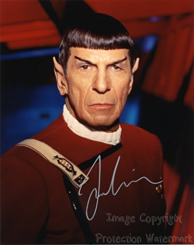 Leonard Nimoy Star Trek Signed Autographed 8x10 Inch Photo Print