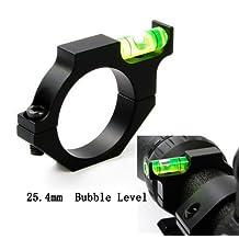 Gugou Green Blob Outdoors 1 inch Anti-Cant Vortex Leupold Burris Nikon 1 inch Riflescope Tubes Bubble Level Scope Rings Mount