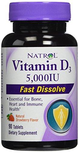 Natrol Vitamin Dissolve Capsules Strawberry