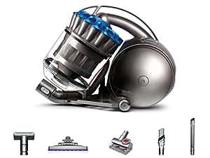 Dyson DC37c Total Allergy - Aspiradora sin bolsa, 840 W de potencia, 259 W de succión, filtro HEPA, capacidad del cubo 2 l, color azul