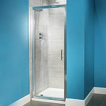 Para mampara de ducha de Pivot Walk In de esquina 700 alcoba hueco ...