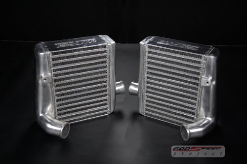 Godspeed ICK-017 - Intercooler Factory Replacment Upgrade Kit for Nissan 300zx (300zx Intercooler)