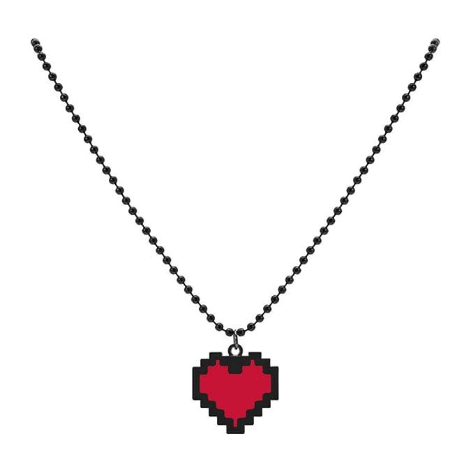 Amazon.com: HLZG Undertale - Collar con colgante de corazón ...