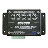 Magnum Energy ME-AGS-S Auto Generator Start Controller (AGS Controller - Standalone Version) for ME Series, MM Series, MMS Series, MS Series, MS-PAE Series and RD Series, includes AGS module, Remote on/off/test switch, switch bezel, a 25' 6-wire cable, and has basic adjustments starting on battery voltage or temperature